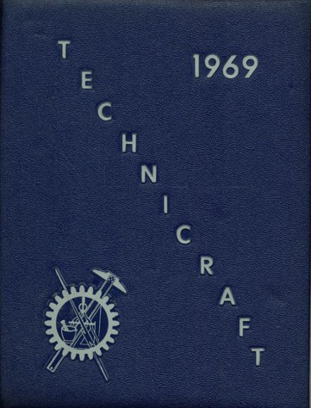 1969 Saunders Trades & Technical High School Yearbook Cover