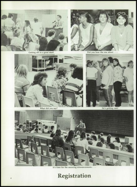 1987 Springtown High School Yearbook Page 8