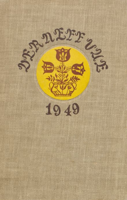 1949 Manheim Township High School Yearbook Cover