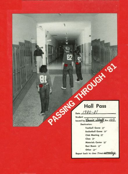1981 Northside High School Yearbook Cover