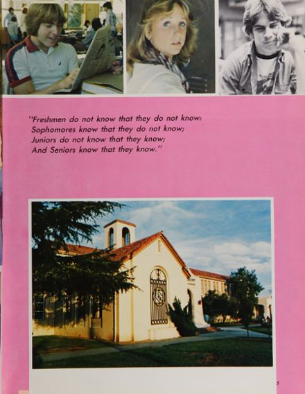 1982 Fremont High School Yearbook Page 9
