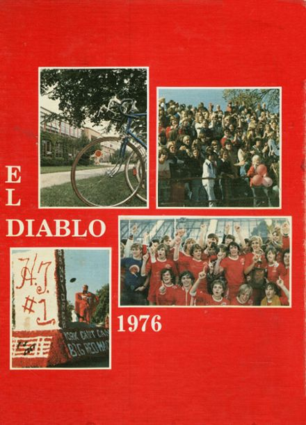 1976 Hinsdale Central High School Yearbook Cover