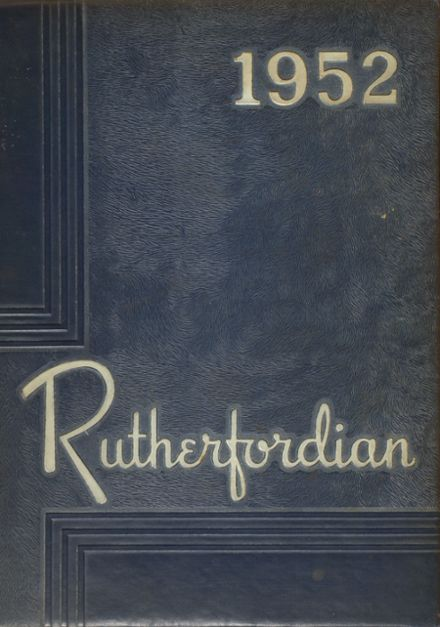 1952 Rutherford High School Yearbook Online Rutherford Nj Classmates