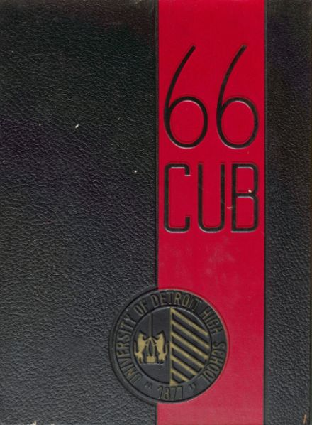 1966 University of Detroit High School Yearbook Cover