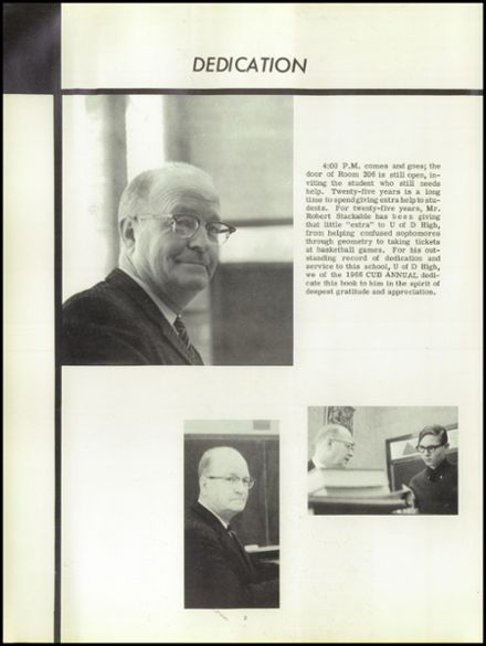 1966 University of Detroit High School Yearbook Page 6