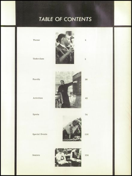1966 University of Detroit High School Yearbook Page 7