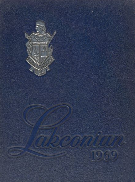 1969 Lake Region Union High School Yearbook Cover