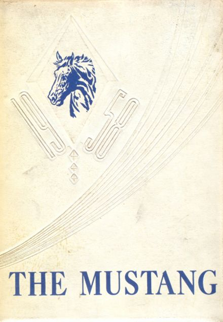 1958 Lone Jack High School Yearbook Cover