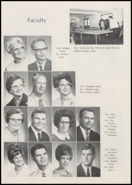 1970 Minco High School Yearbook Page 8