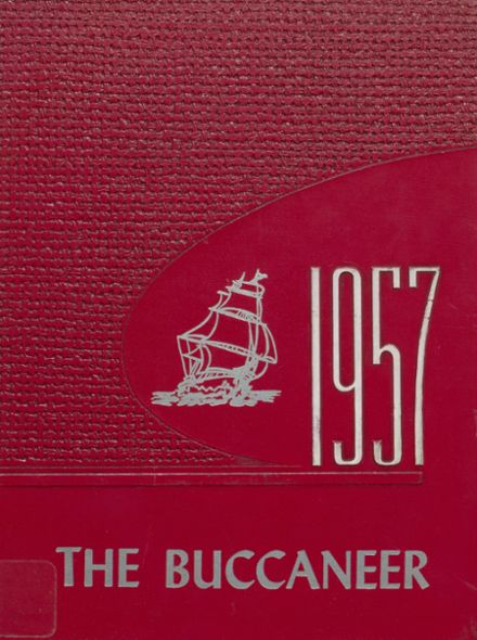 1957 Covington High School Yearbook Cover