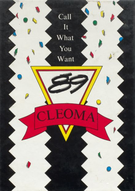 1989 Cleveland High School Yearbook Cover