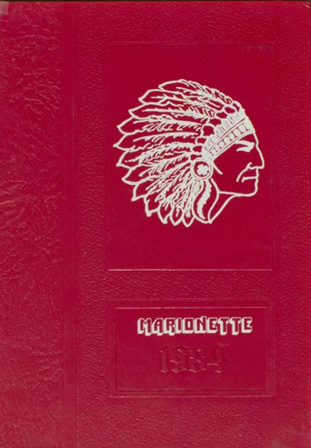 1984 Marion County High School Yearbook Cover