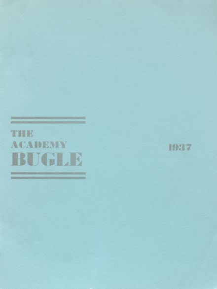 1937 St. Agnes Academy Yearbook Cover
