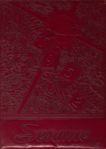 1952 South Hills High School Yearbook Cover
