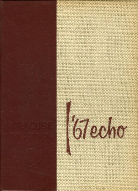 1967 Syracuse High School Yearbook Cover