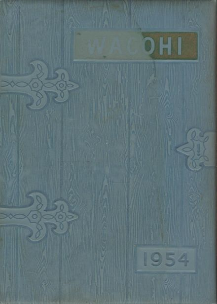 1957 Washington Community High School Yearbook Cover