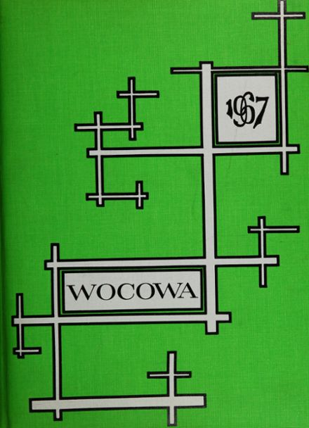 1968 Woodland High School Yearbook Cover