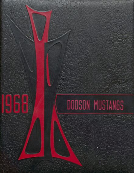 1968 Dodson High School Yearbook Cover