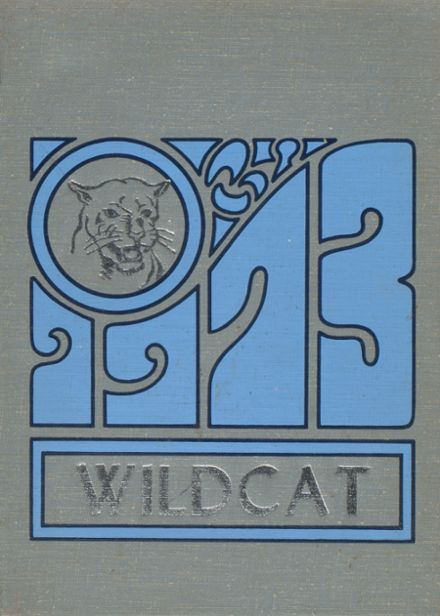 1973 Godley High School Yearbook Cover