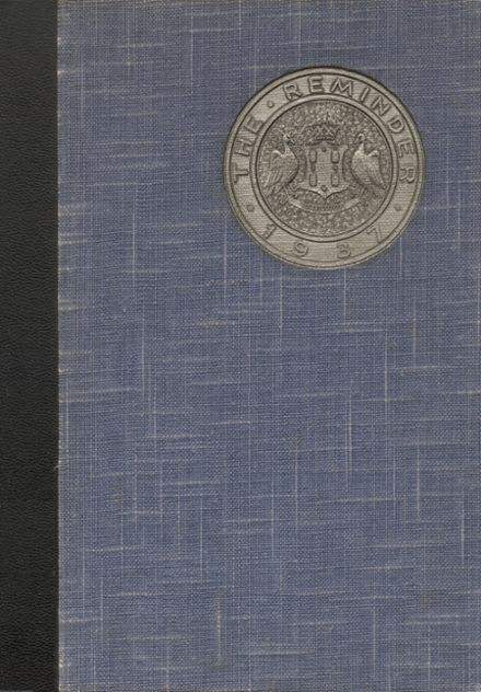 1937 Lockwood High School Yearbook Cover