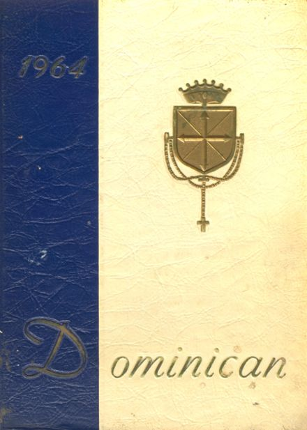 1964 Dominican Academy Yearbook Cover