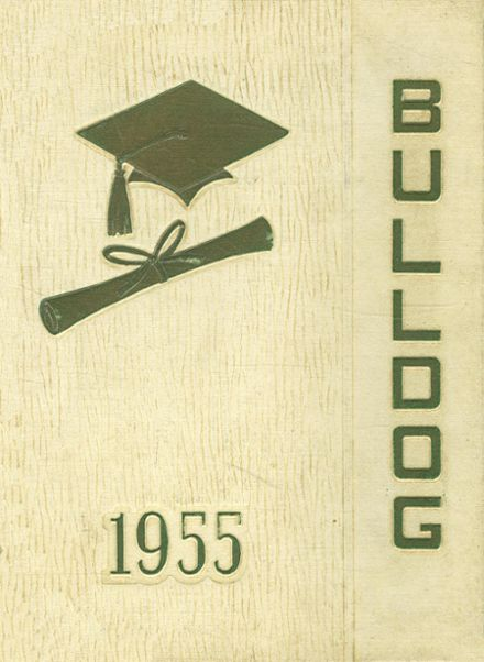 1955 Redfield High School Yearbook Cover
