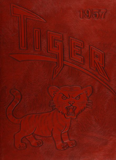 1957 Jerome High School Yearbook Cover
