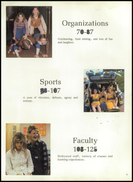 1978 Cathedral High School Yearbook Page 9