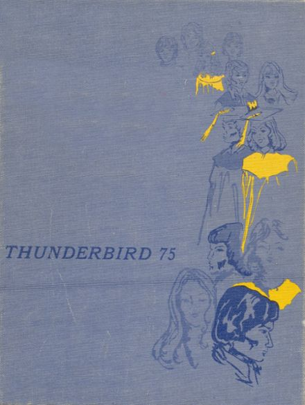 1975 Wahoo High School Yearbook Cover