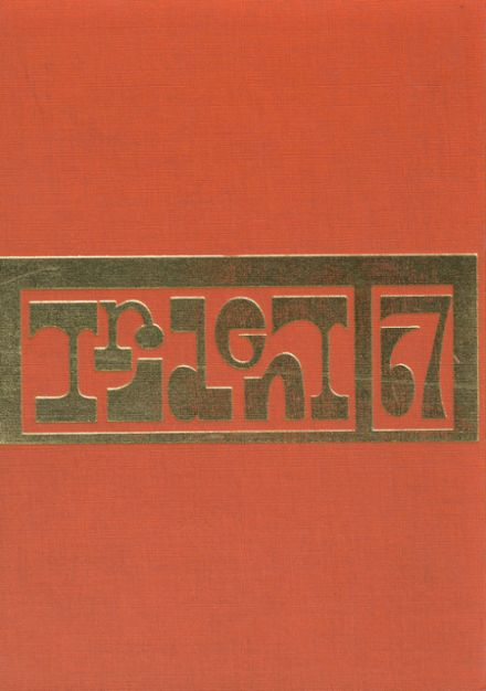 1967 West Lafayette High School Yearbook Cover