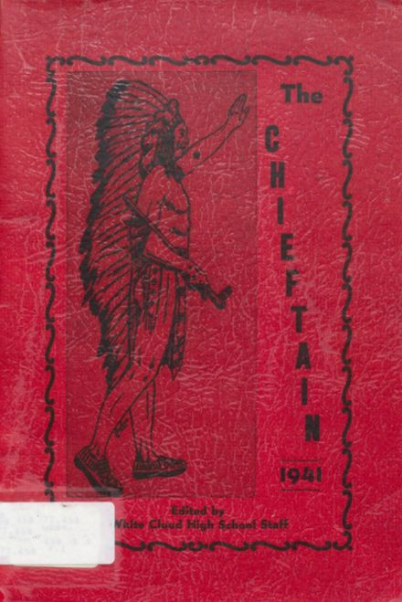 1941 White Cloud High School Yearbook Cover