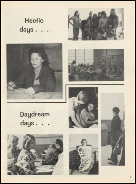 1975 Drumright High School Yearbook Page 7