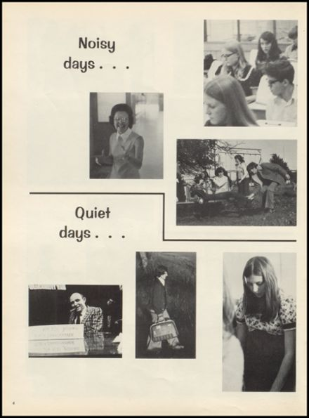 1975 Drumright High School Yearbook Page 8