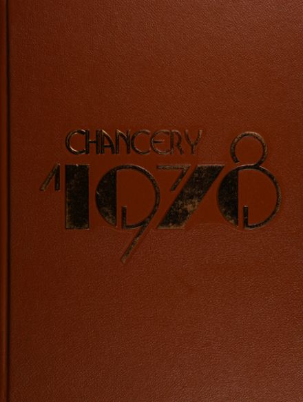 1978 Chatsworth High School Yearbook Cover