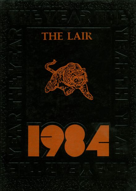 1984 Maplewood High School Yearbook Cover