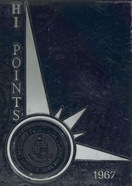 1967 Sparrows Point High School Yearbook Cover