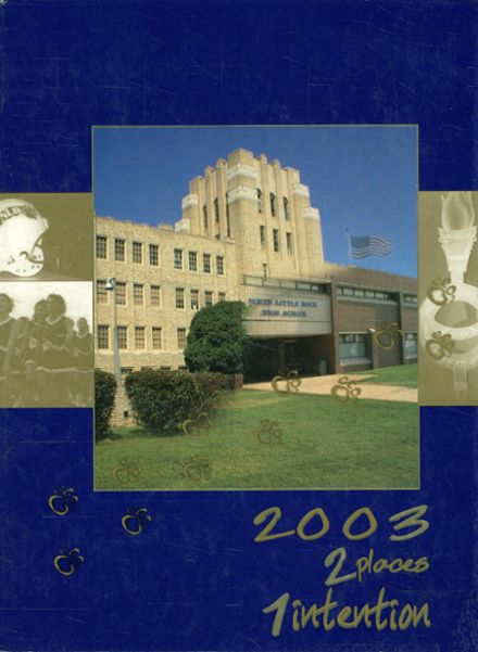 2003 North Little Rock High School Yearbook Cover