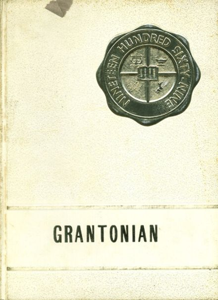 1969 Grant County High School Yearbook Cover