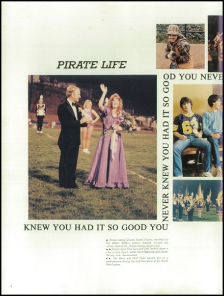 1984 Marshfield High School Yearbook Page 8