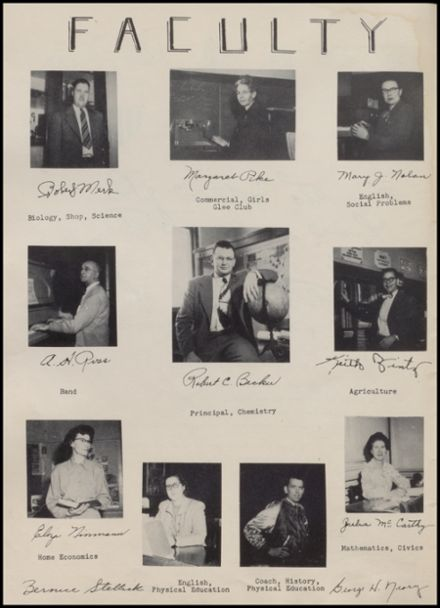 1951 Rib Lake High School Yearbook Page 6