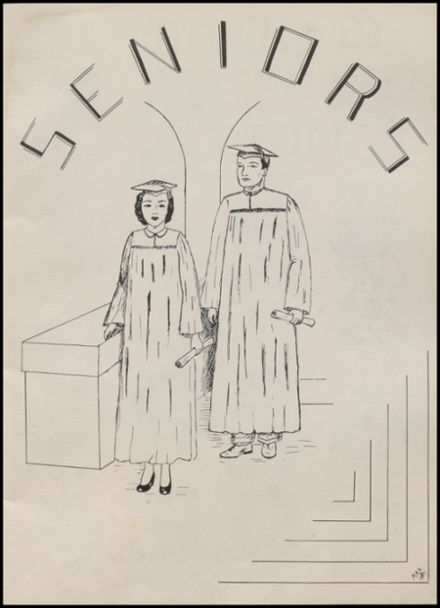 1951 Rib Lake High School Yearbook Page 7