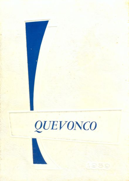 1959 Camden High School Yearbook Cover