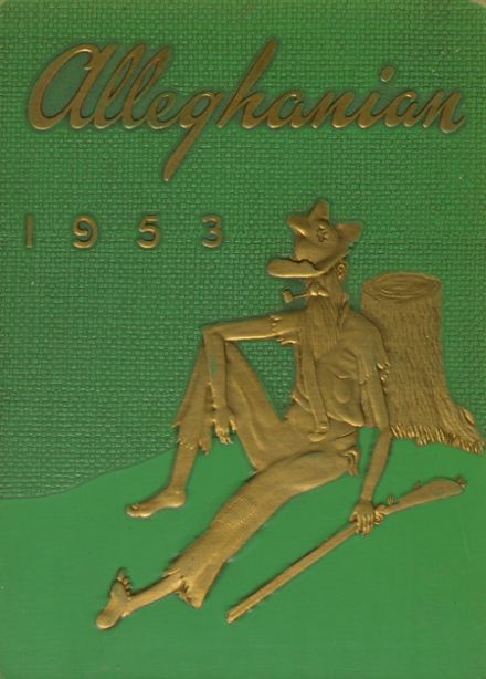 1953 Clifton Forge High School Yearbook Cover