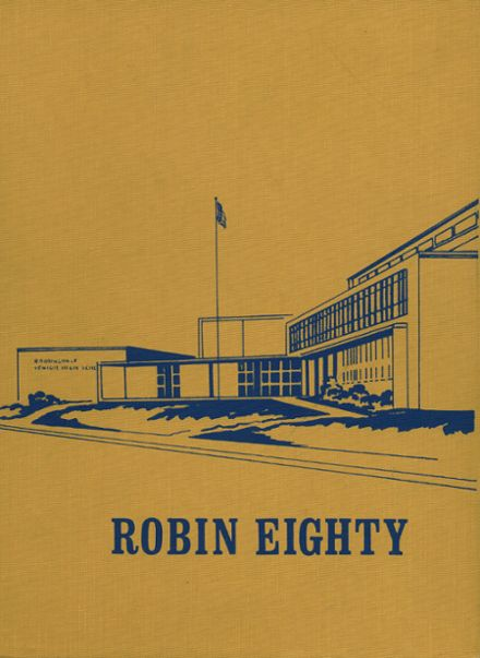 1980 Robbinsdale High School Yearbook Cover