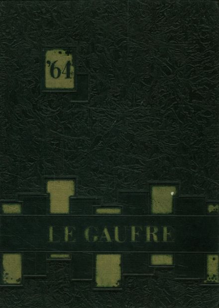 1964 Green City High School Yearbook Cover