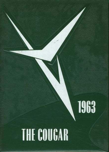 1963 Courtenay High School Yearbook Cover