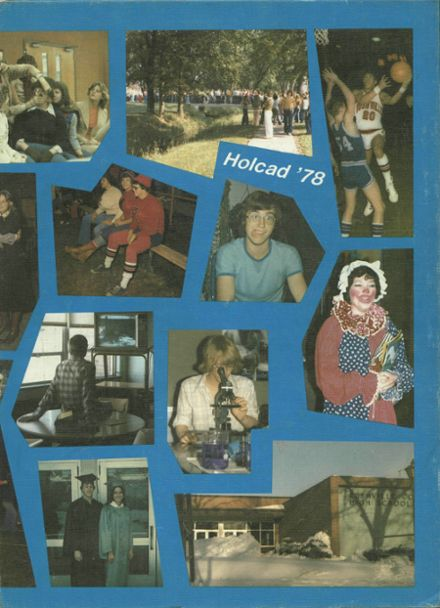 1978 Rushville Consolidated High School Yearbook Cover