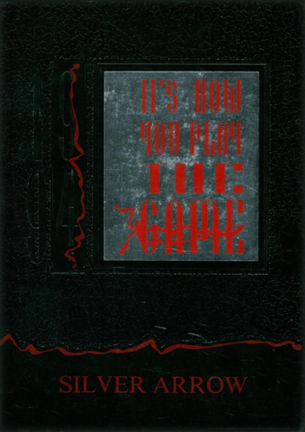1994 Jackson High School Yearbook Cover