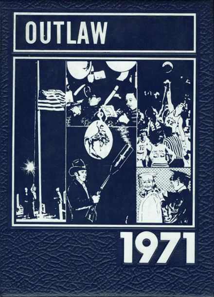 1971 Marlow High School Yearbook Cover