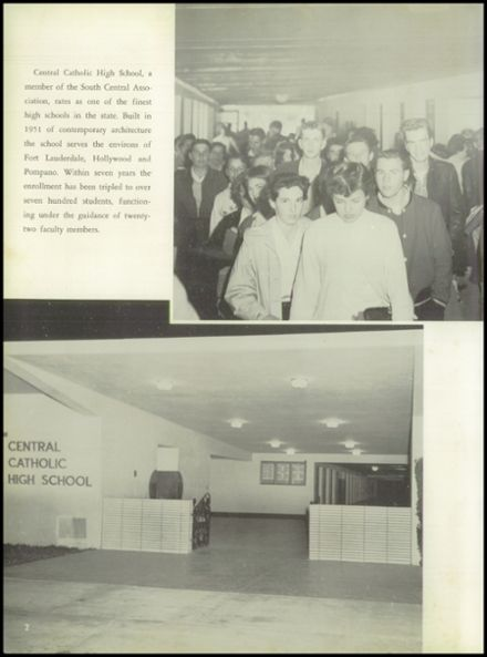 1958 Central Catholic High School Yearbook Page 6